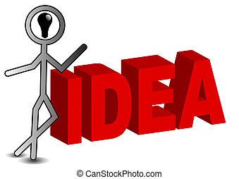idea stickman