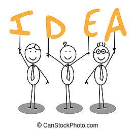 idea text group