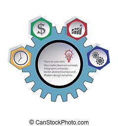 Idea vector business