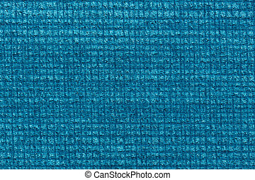 Ideal contrast blue fabric texture. High resolution photo.