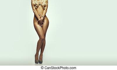 Ideal female body
