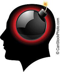 ideas., conceito, bomba, criativo