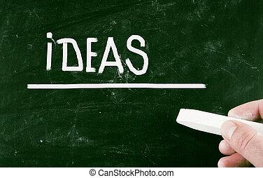 ideeën, concept