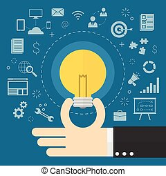 ideeën, zakelijk