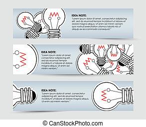 idee, aantekening