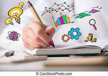 idee, begriff, kreativ