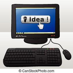 idee, edv, begriff
