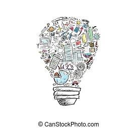 idee, geschaeftswelt