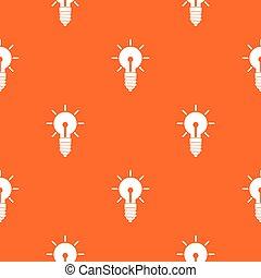 idee, licht, seamless, bol, model