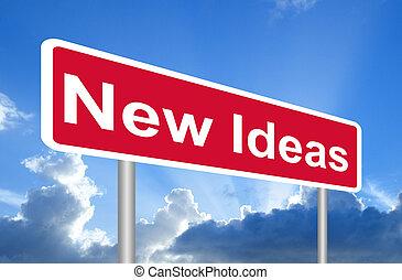 idee nuove, segno strada