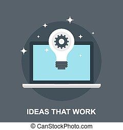 idee, quello, lavoro