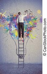 idee, zakelijk, creatief