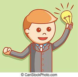 idee, zakenmens