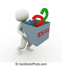 ideer, og, spørgsmål
