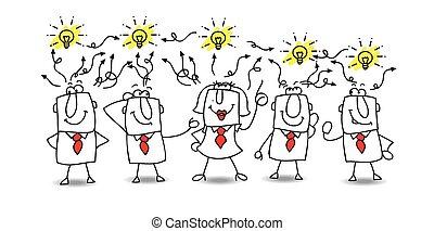 ideer, udveksling