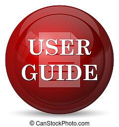 idegenvezető, felhasználó, ikon