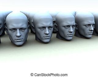 Conceptual image about conforming concepts.