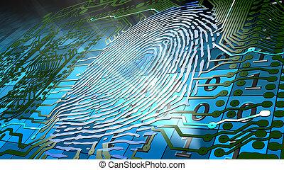 identif, fingerprint-based, biometric
