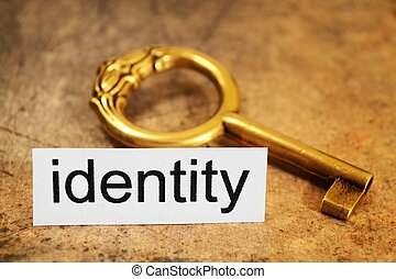 identität, begriff
