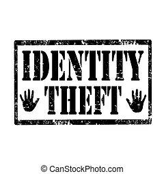 identität, theft-stamp