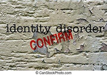 Identity disorder