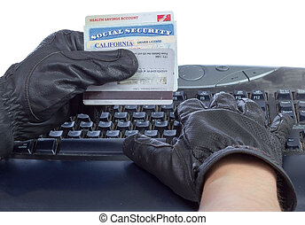 Identity theft. - Identification documents (social security...