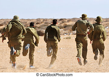 IDF - Israel Army - New Israeli soldiers are being recruited...