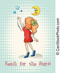 Idiom reach for the stars
