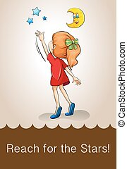 Idiom reach for the stars