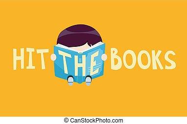 Idioms Hit The Books