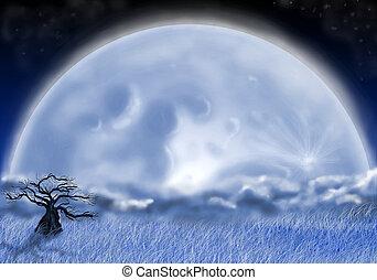 idiot, lune