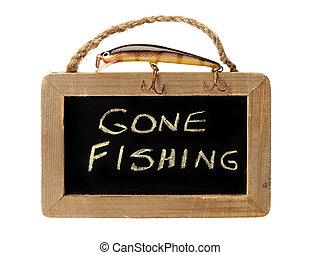 ido, señuelo, pesca, cima, señal