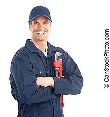 idraulico, lavoratore