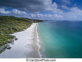 idyllic, hyams, praia, austrália