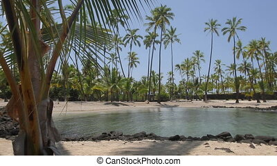Place of Refuge - Idyllic landscape in Hawaii known as the...