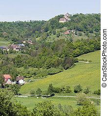 scenery around Castle Tierberg