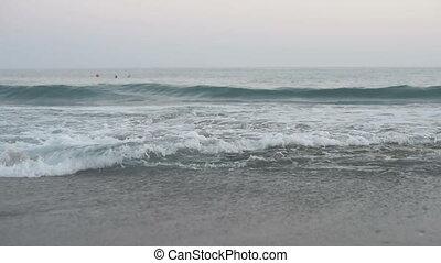 Idyllic seascape of Mediterranean Sea in Turkey