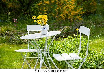 idyllisch, kleingarten