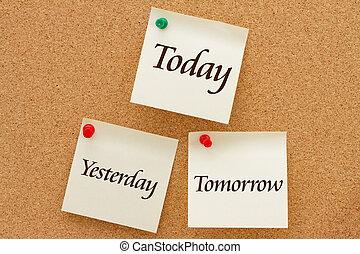 ieri, domani, oggi