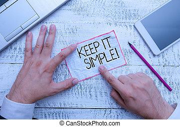iets, veel, simple., gaan, foto, gemakkelijk, conceptueel,...