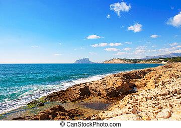 Ifach Penon view from Moraira alicante