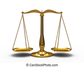 igazságosság, arany-, mérleg