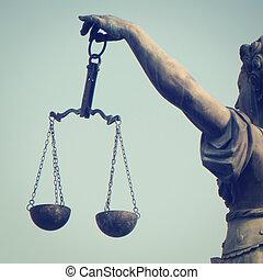 igazságosság, mérleg