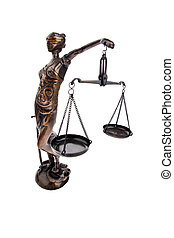 igazságosság, noha, mérleg, helyett, törvény, és,...