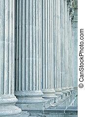 igazságosság, törvény, és, parancs