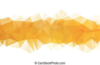 ight Yellow vector Pattern. triangular template. Geometric...