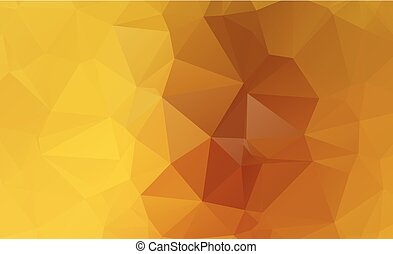 ight Yellow vector Pattern. triangular template. Geometric...