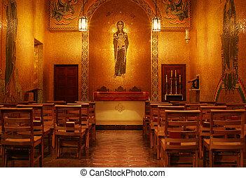 iglesia, interior