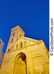 iglesia, marruecos, suposición, el-jadida