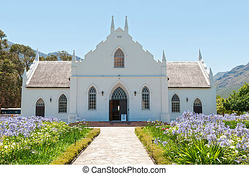 iglesia, reformed, franchoek, holandés
